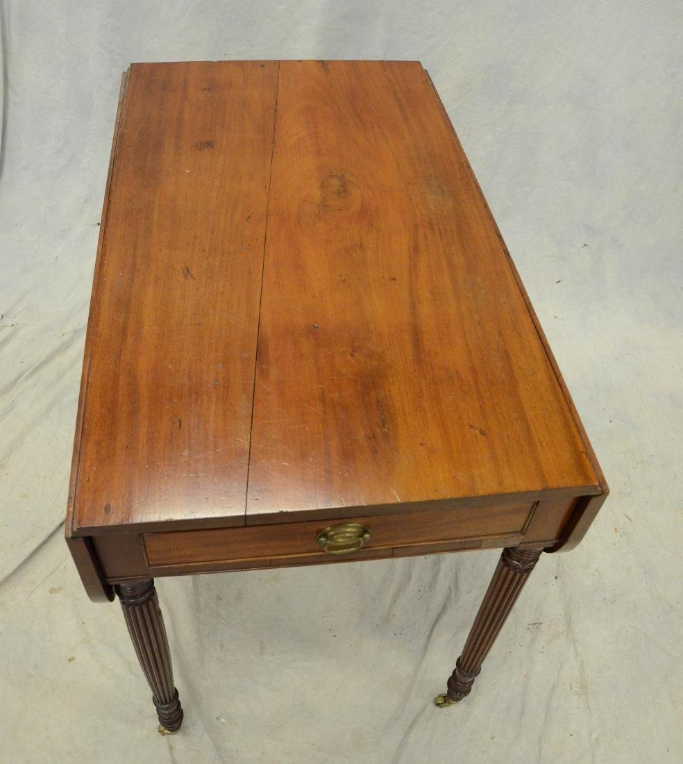 American mahogany Sheraton Pembroke table,19th C - 2