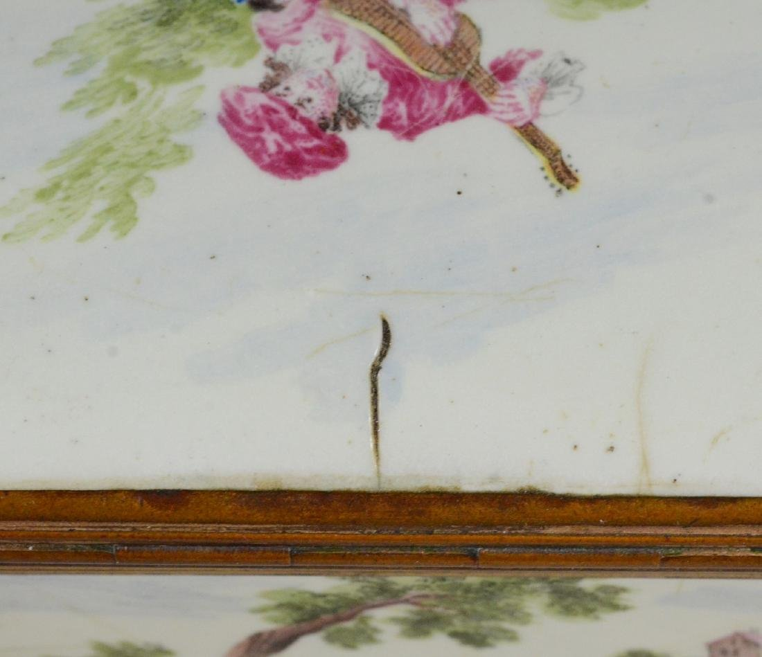 (3) Continental, possibly German, table snuff boxes - 16