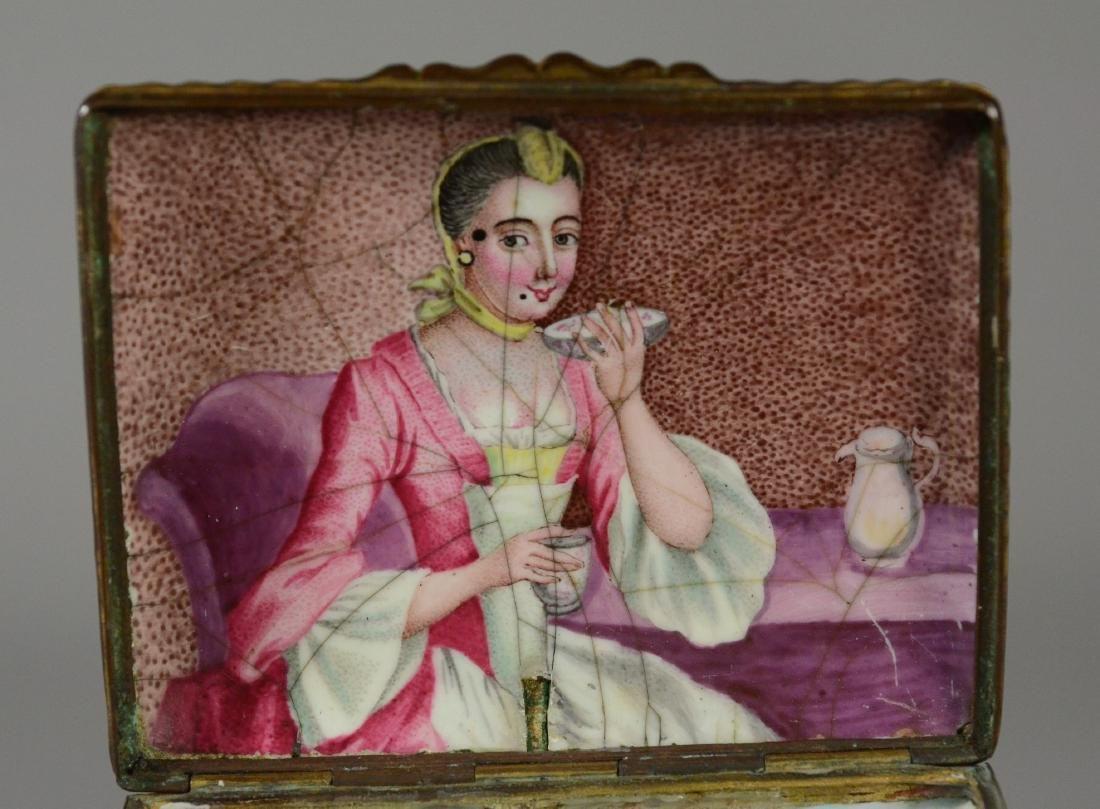 (3) Continental, possibly German, table snuff boxes - 3