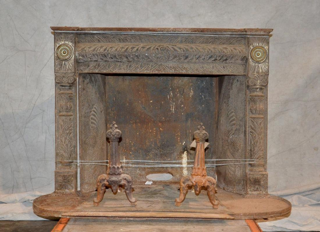 Benjamin Franklin 76' Cast iron stove