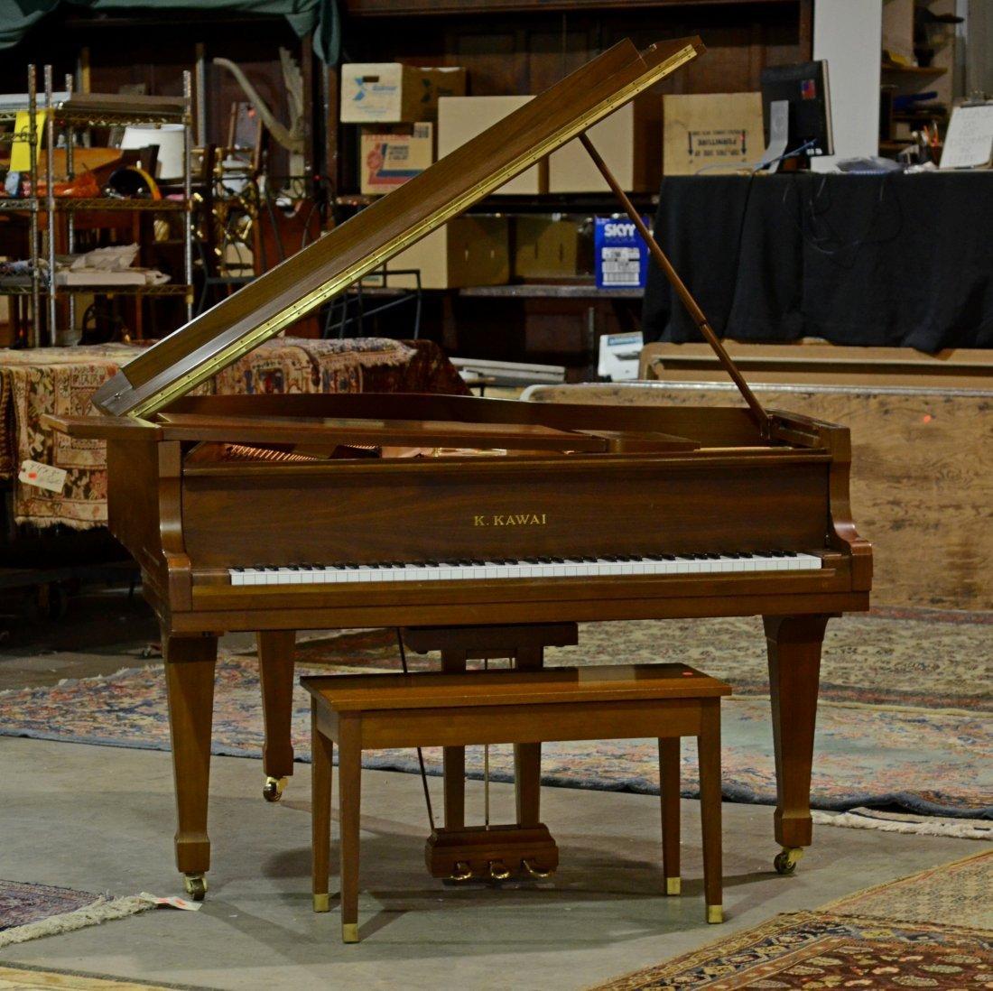 Kawai Grand Piano, Kg-2C, Serial number 1054856