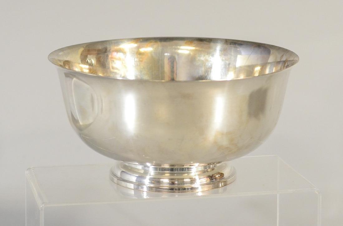 """""""Paul Revere 1768"""" sterling silver bowl"""