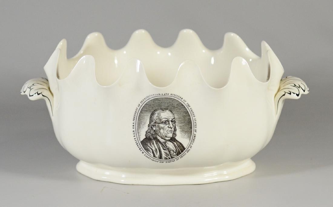 Wedgwood porcelain Ben Franklin presentation bowl