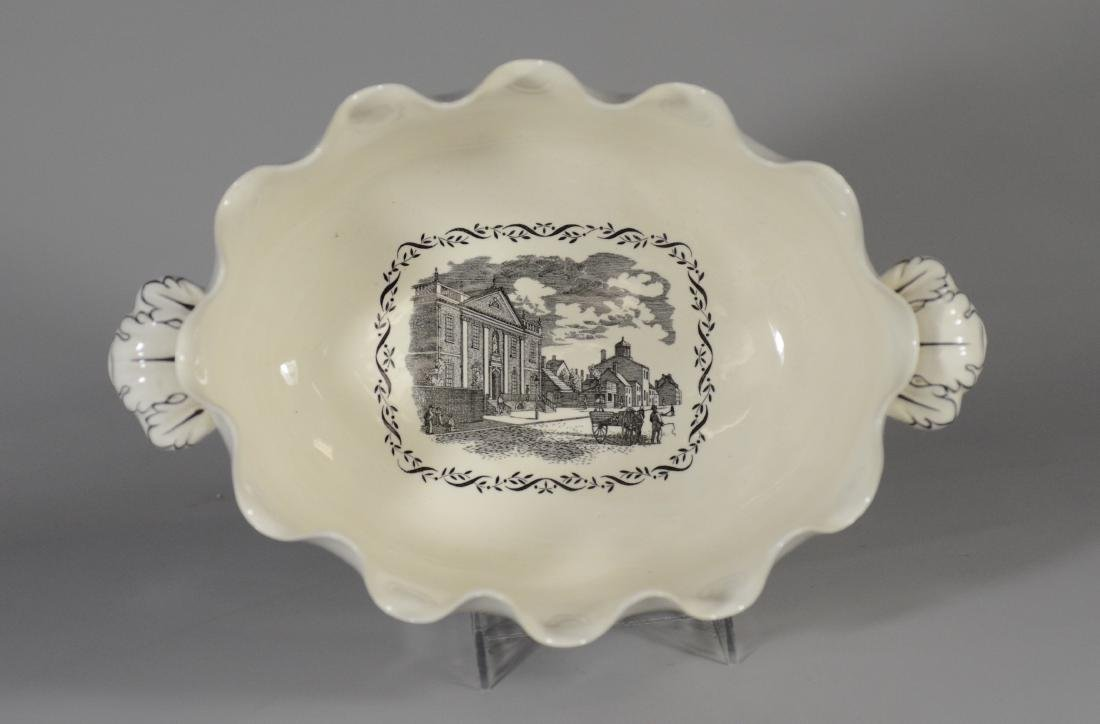 Wedgwood porcelain Ben Franklin presentation bowl - 3