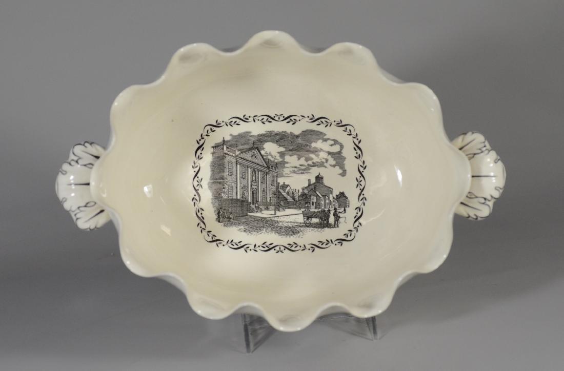 Wedgwood porcelain Ben Franklin presentation bowl - 3