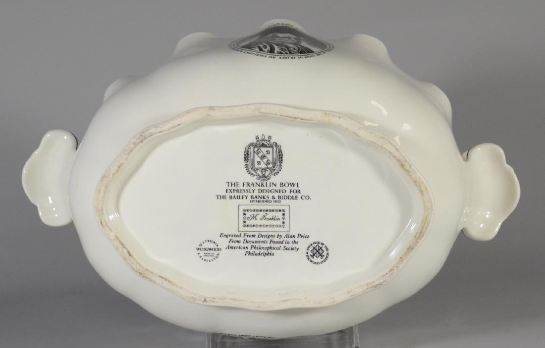 Wedgwood porcelain Ben Franklin presentation bowl - 4