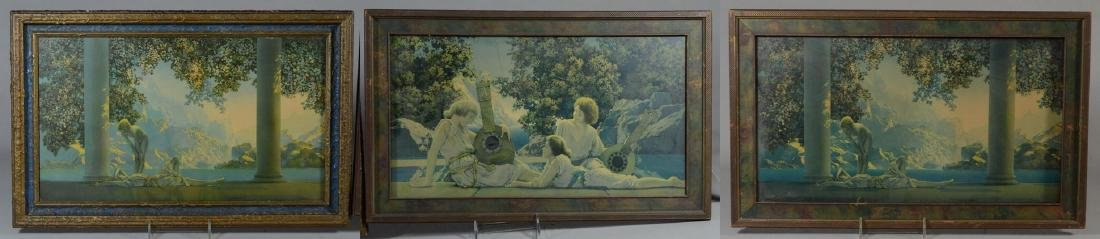 (3) Maxfield Parrish (American, 1870-1966) prints