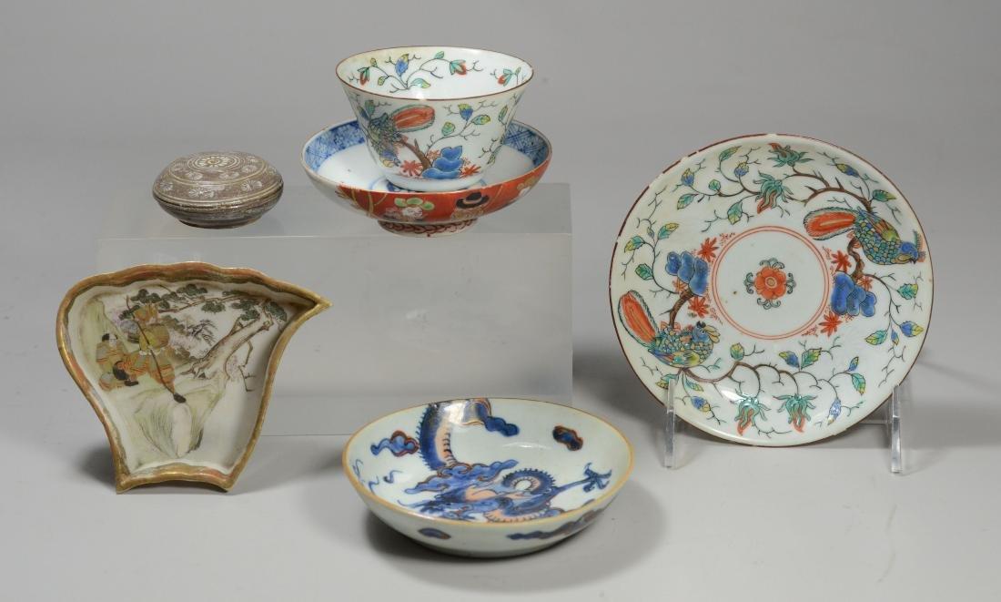 (5) pcs Oriental porcelain