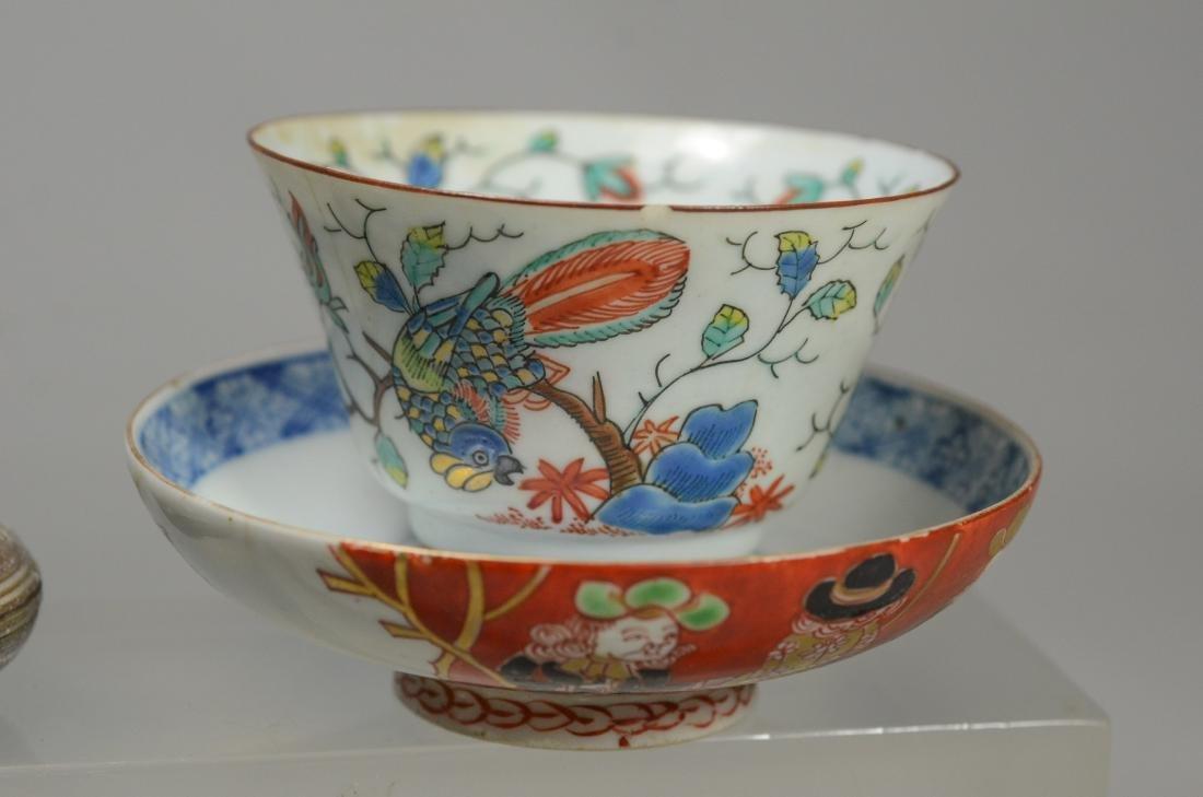(5) pcs Oriental porcelain - 2