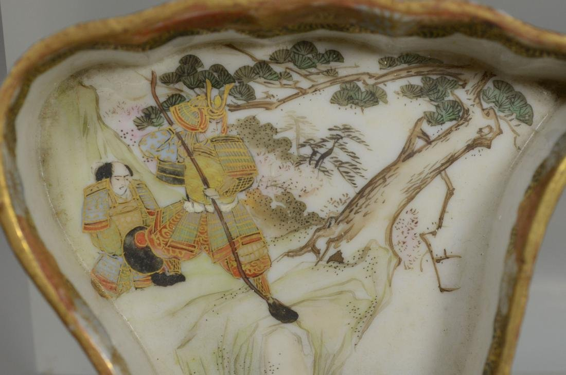 (5) pcs Oriental porcelain - 6