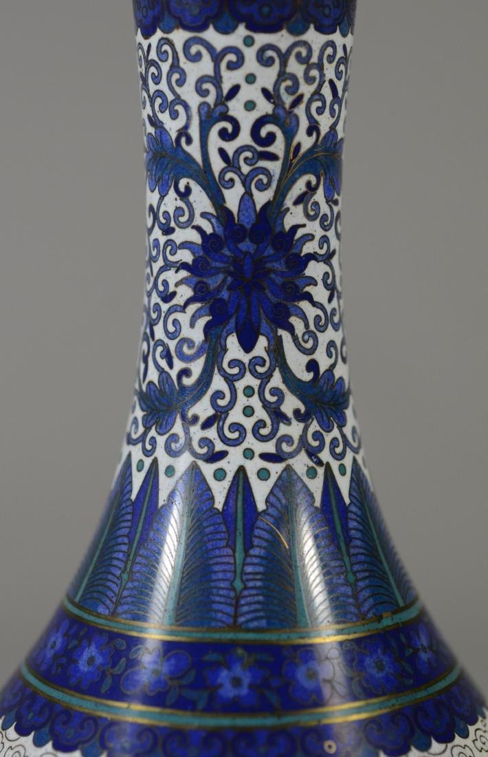 "Chinese Cloissonne dragon vase, 8 1/2""h - 7"