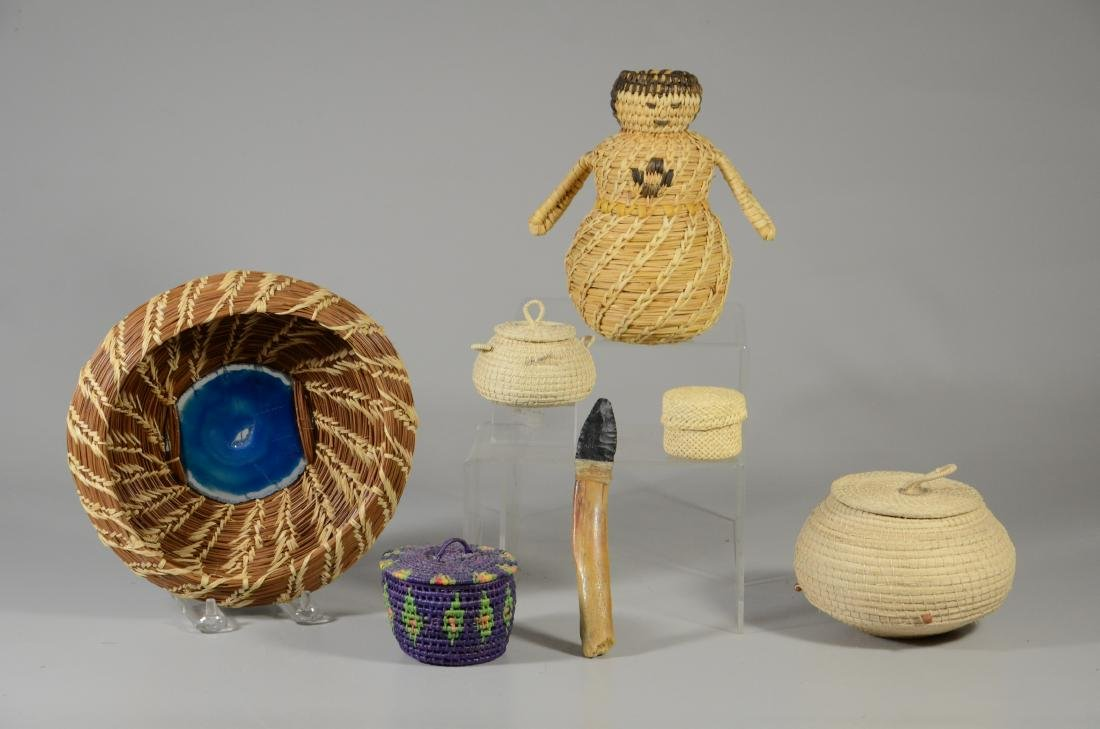 (6) Ethnic baskets
