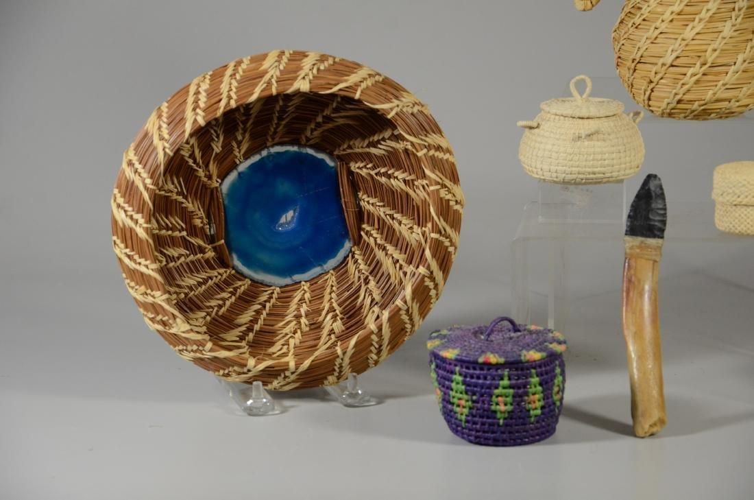 (6) Ethnic baskets - 2