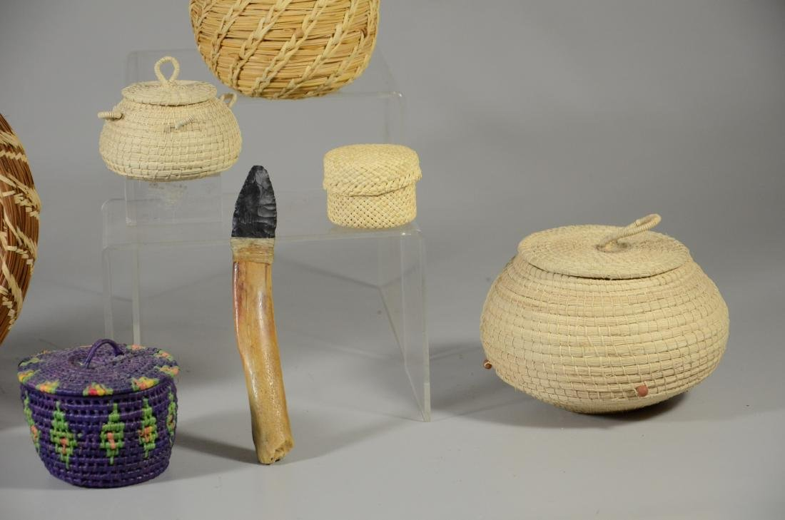 (6) Ethnic baskets - 3