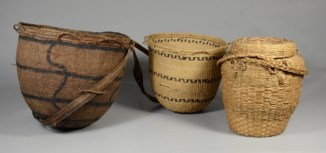 3 Ethnic baskets
