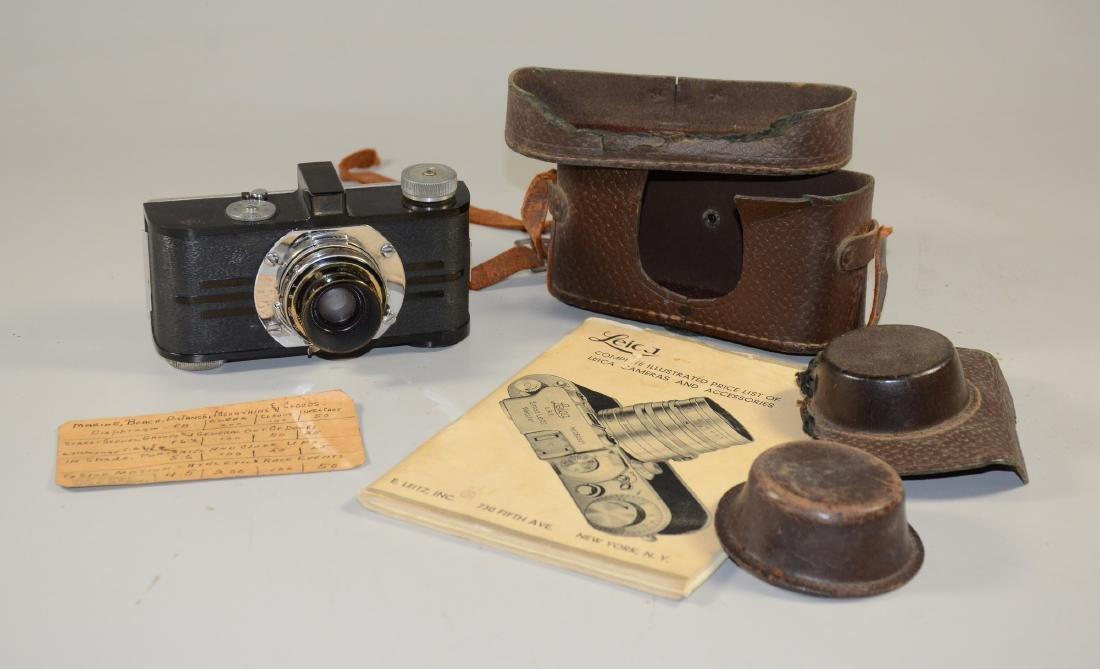 Leica Argus Anastigmat Camera, IRC