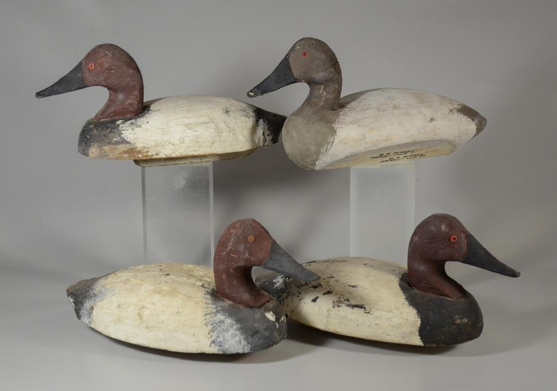(4) JW Runkle,  Laurel, Pennsylvania Decoys