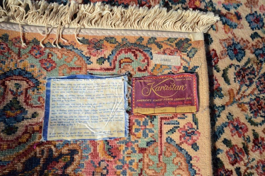 """11'4"""" X 20' Karastan Kirman Rug - 3"""