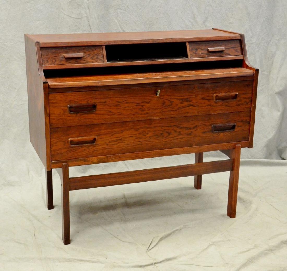 Danish Modern rosewood desk