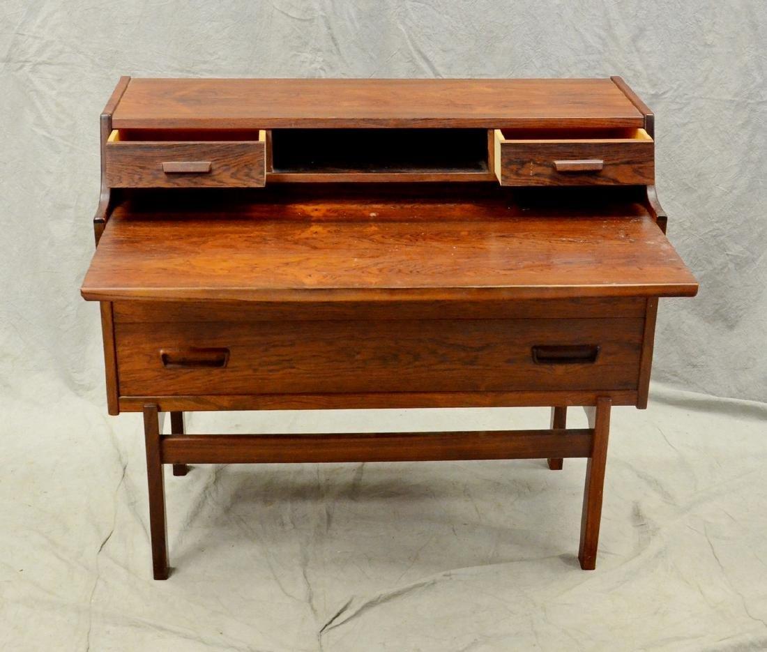 Danish Modern rosewood desk - 2