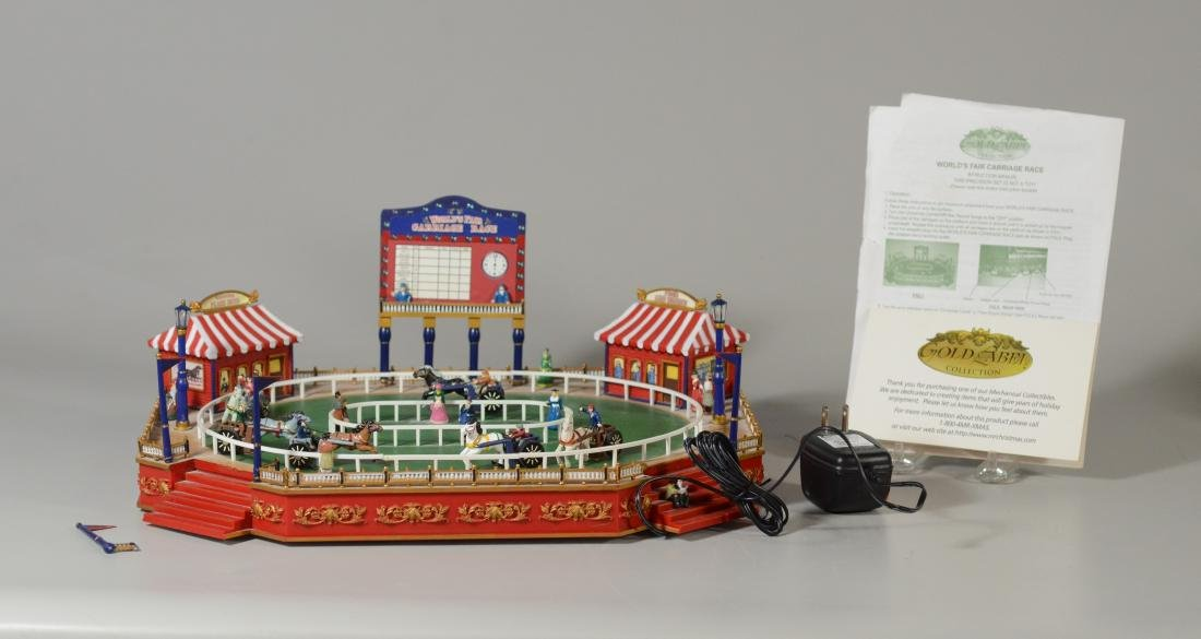 Worlds Fair Carriage Race Electronic Game Gold Label