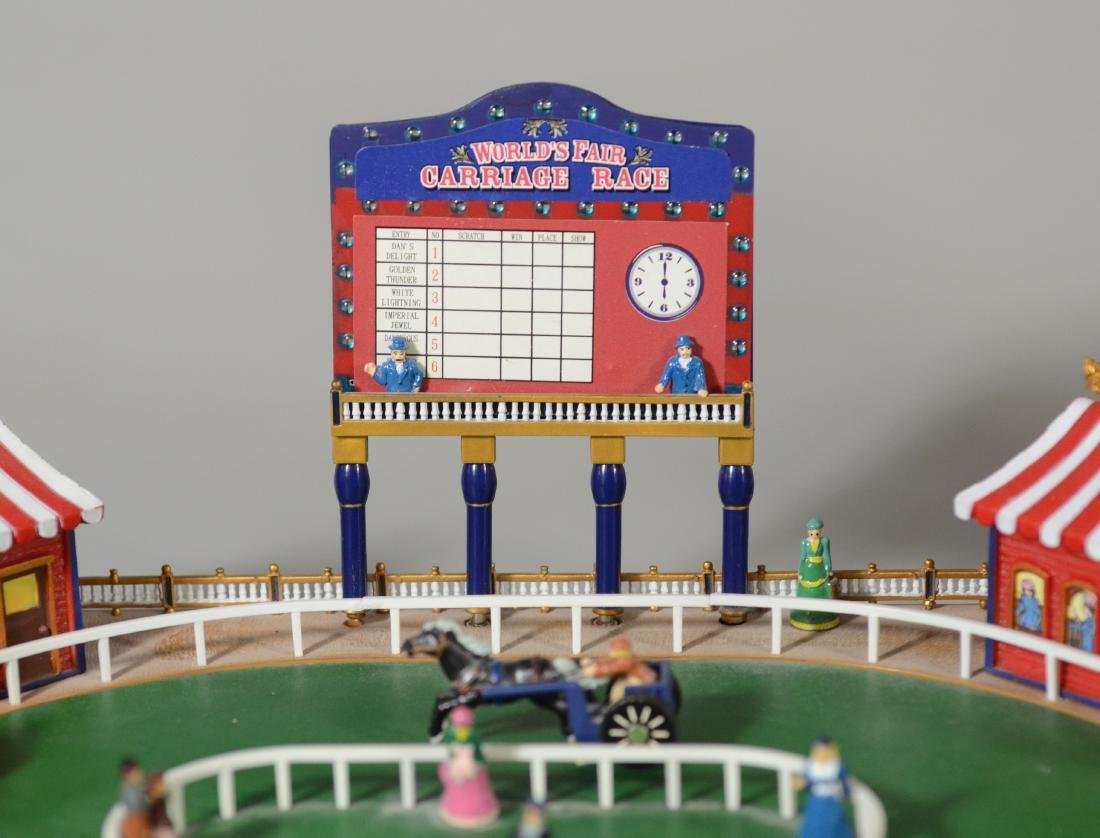 Worlds Fair Carriage Race Electronic Game Gold Label - 3