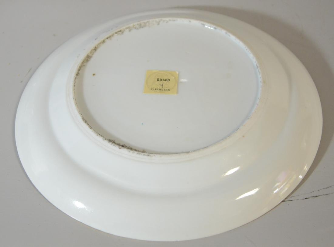 "Pr Chinese porcelain plates, ""1000 Antiques"" - 3"