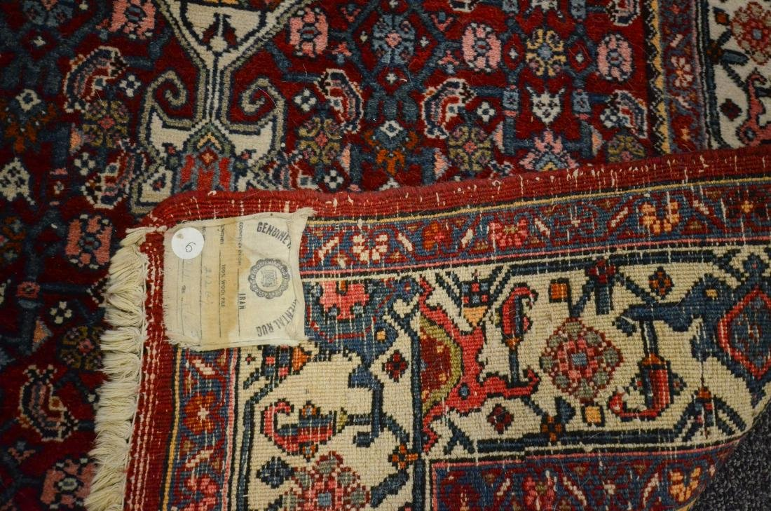 "Lot of 2 Persian Bidjar rugs 3'3""x5'7"" and 2'6""x4'3"" - 2"