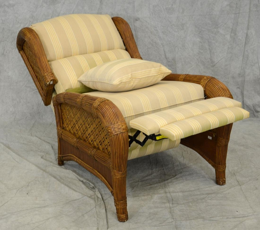 (7) Pc wicker and rattan patio set by Tradewinds - 4