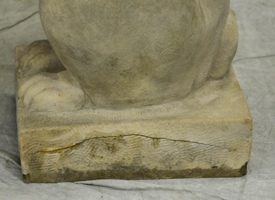 (2) Miss Wetmore's Teahouse Rabbits Sculpture Statue - 2
