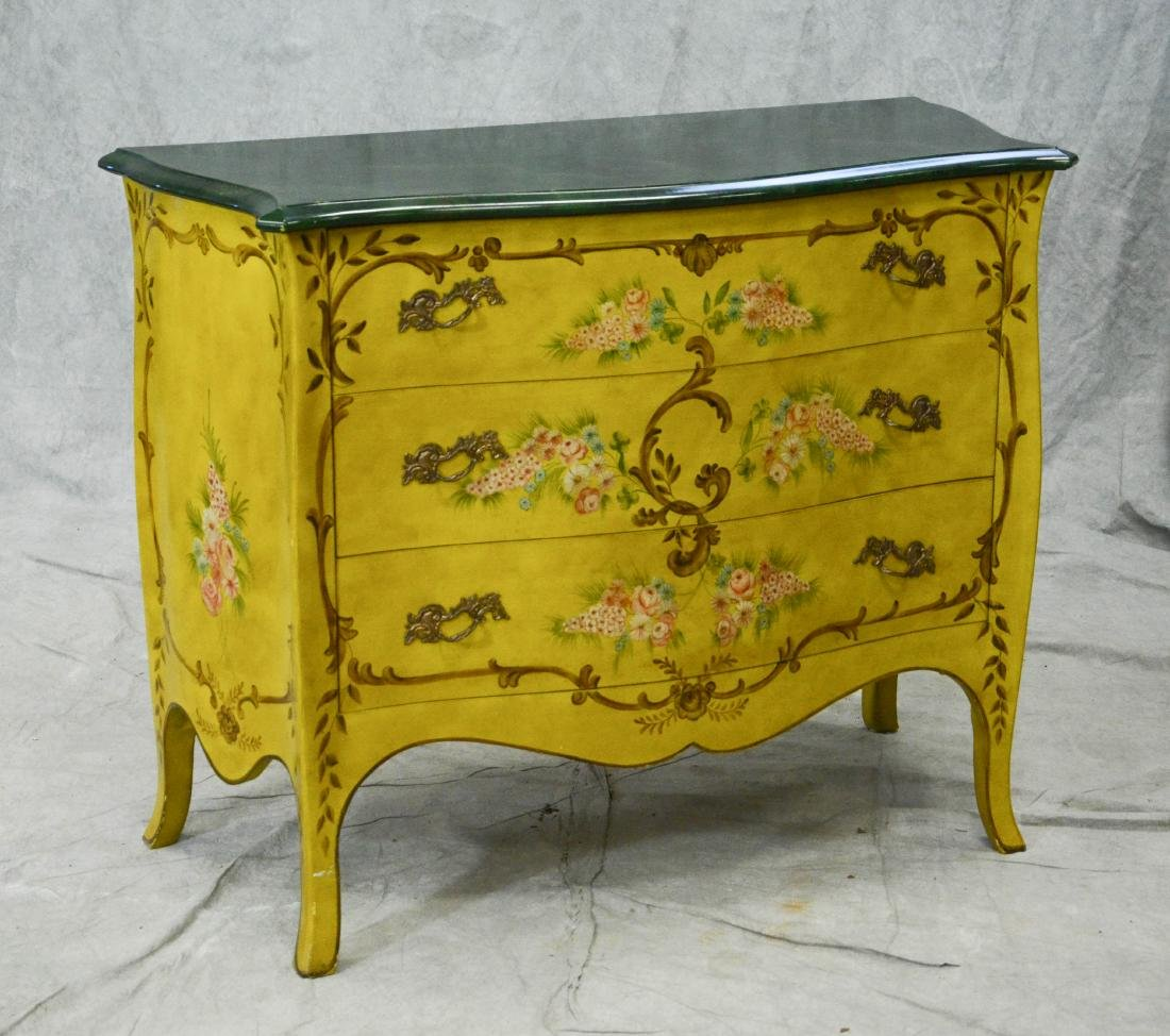 Chelsea House 3-drawer Louis XVI style commode