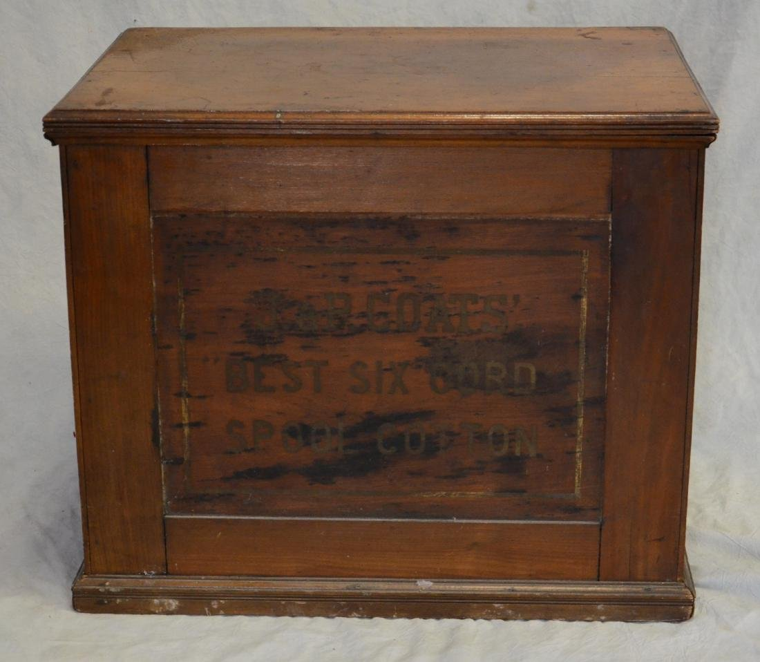 Spool Cotton store display cabinet - 3