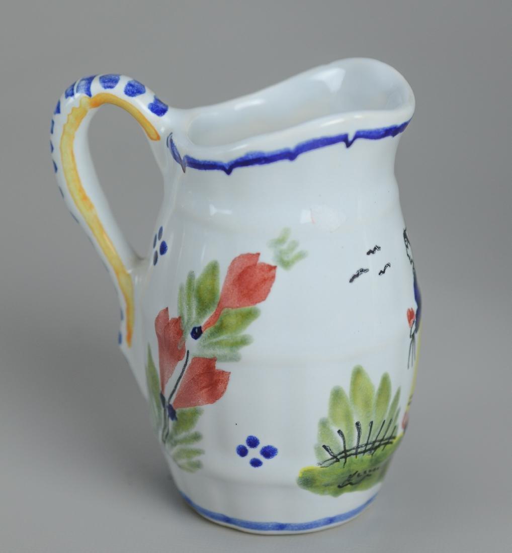 21 Pcs Henriot Quimper France porcelain - 10