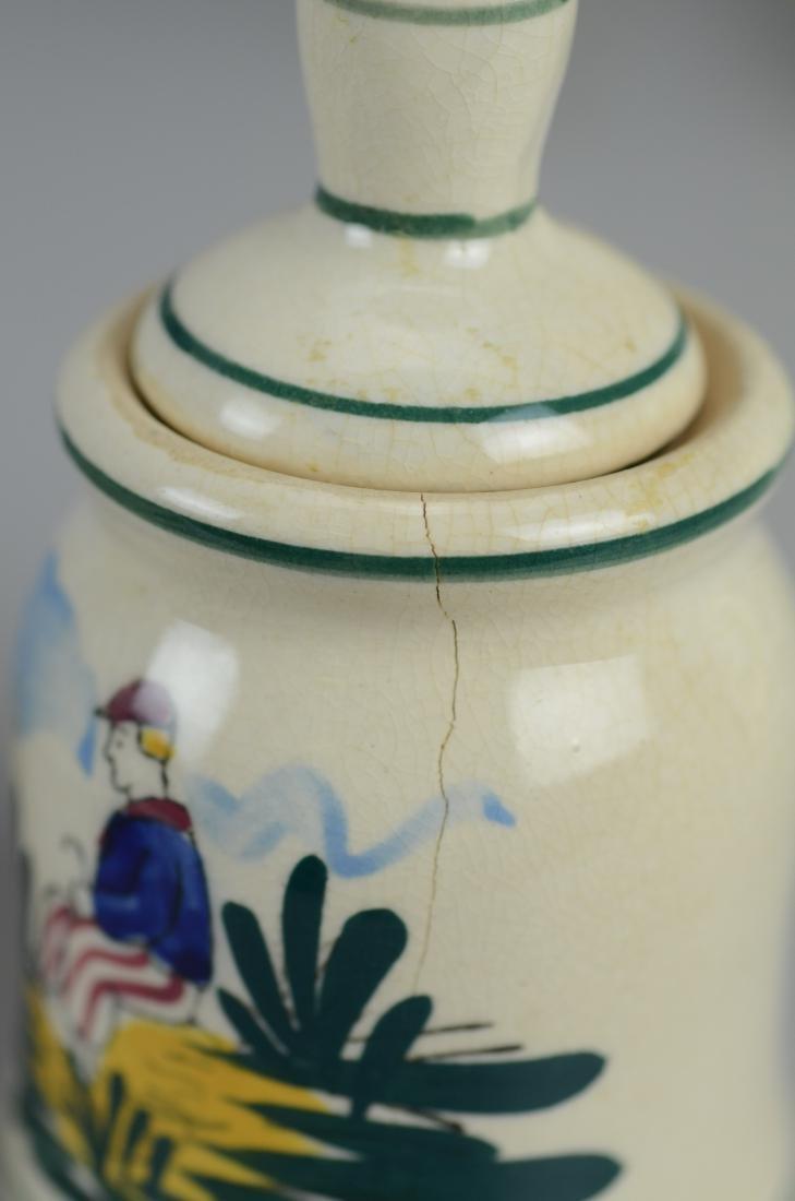 21 Pcs Henriot Quimper France porcelain - 8