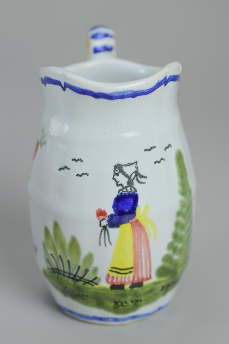 21 Pcs Henriot Quimper France porcelain - 9