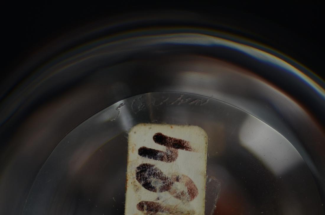Steuben Partridge in Pear Tree paperweight - 2