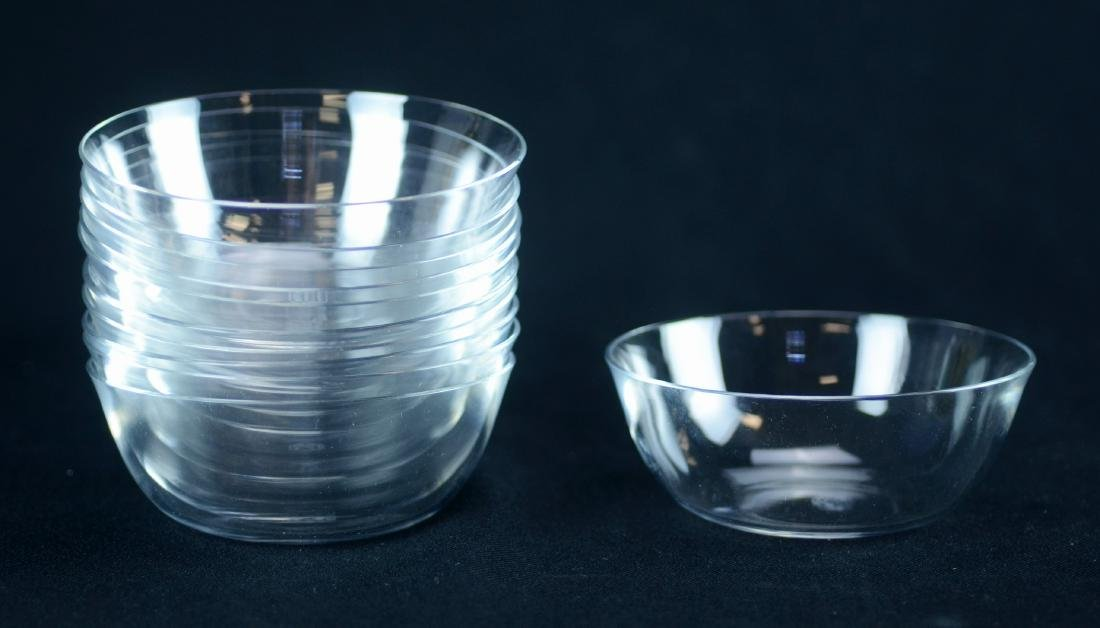 11 Baccarat Perfection finger bowls
