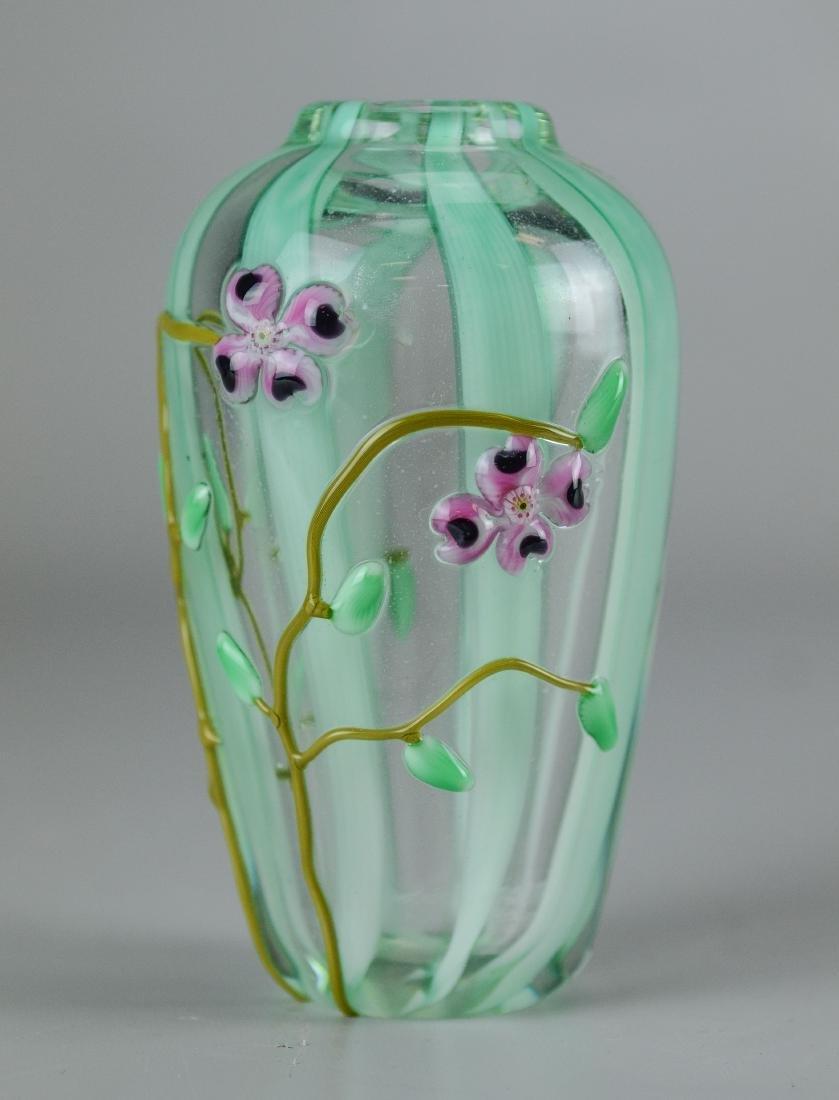 3 Pcs of contemporary art glass - 2