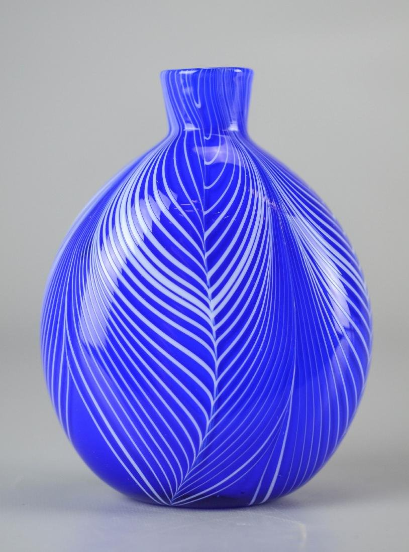 3 Pcs of contemporary art glass - 3