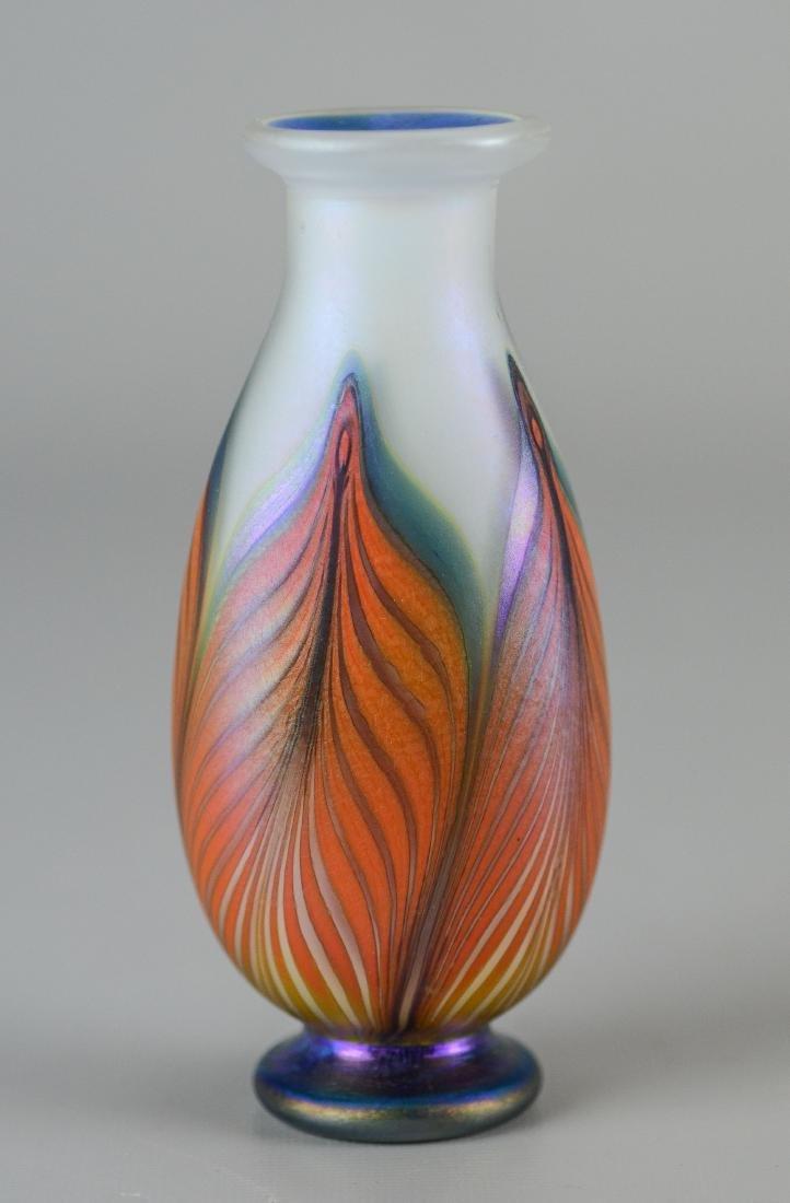 3 Pcs of contemporary art glass - 4