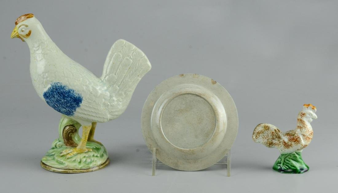 3 Pcs English Pottery - 4