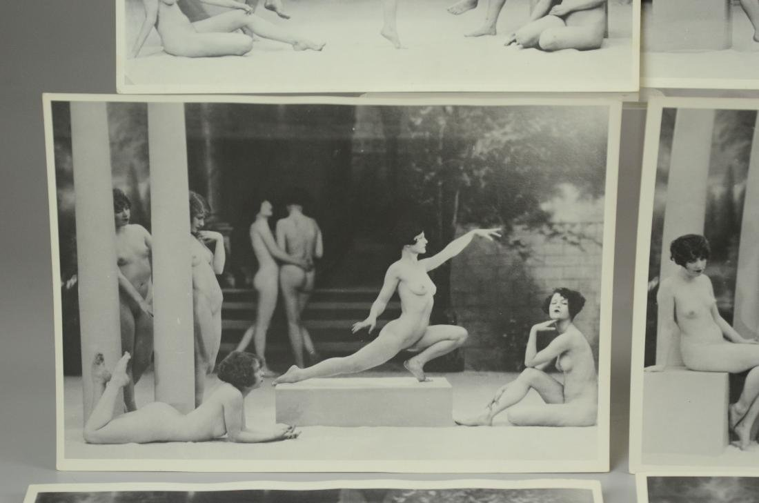 10 photo prints, female nude stage dancers - 3