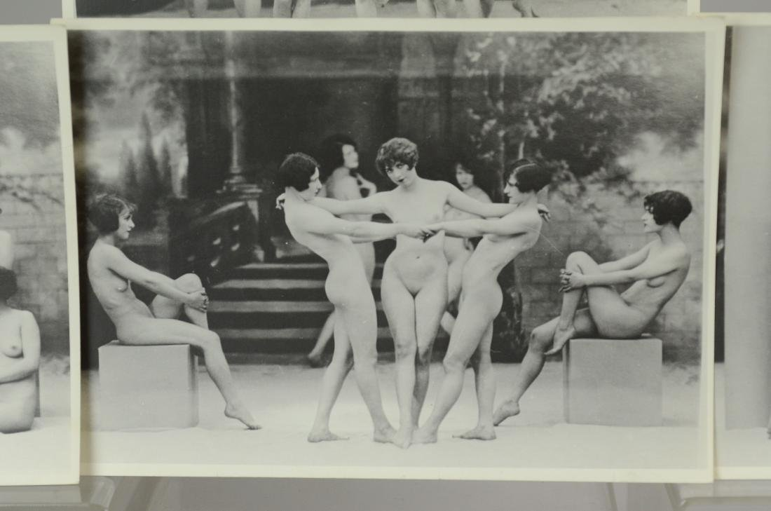 10 photo prints, female nude stage dancers - 4
