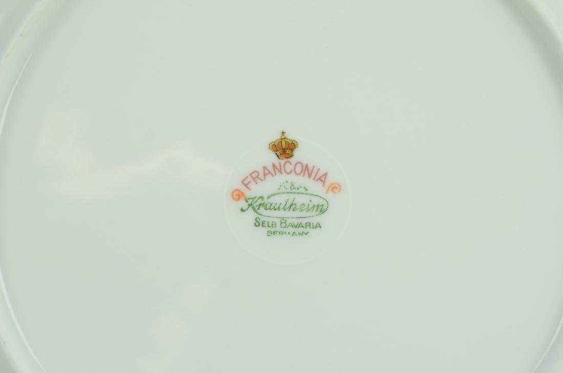 26 Franconia Krautheim dinner plates - 2