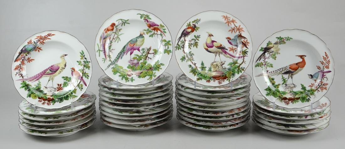 32 Mottahedeh Vista Alegre bird soup bowls
