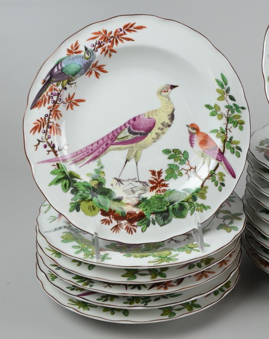 32 Mottahedeh Vista Alegre bird soup bowls - 2