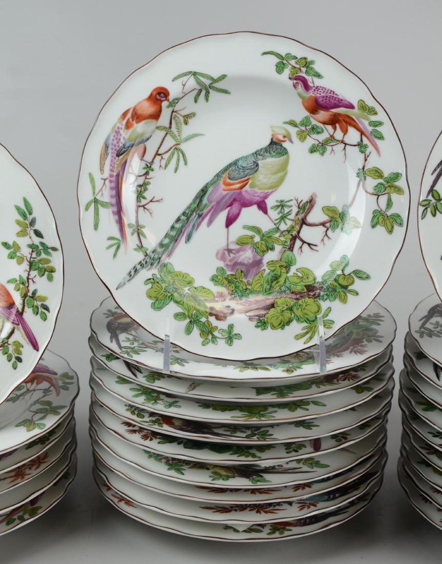 32 Mottahedeh Vista Alegre bird soup bowls - 3