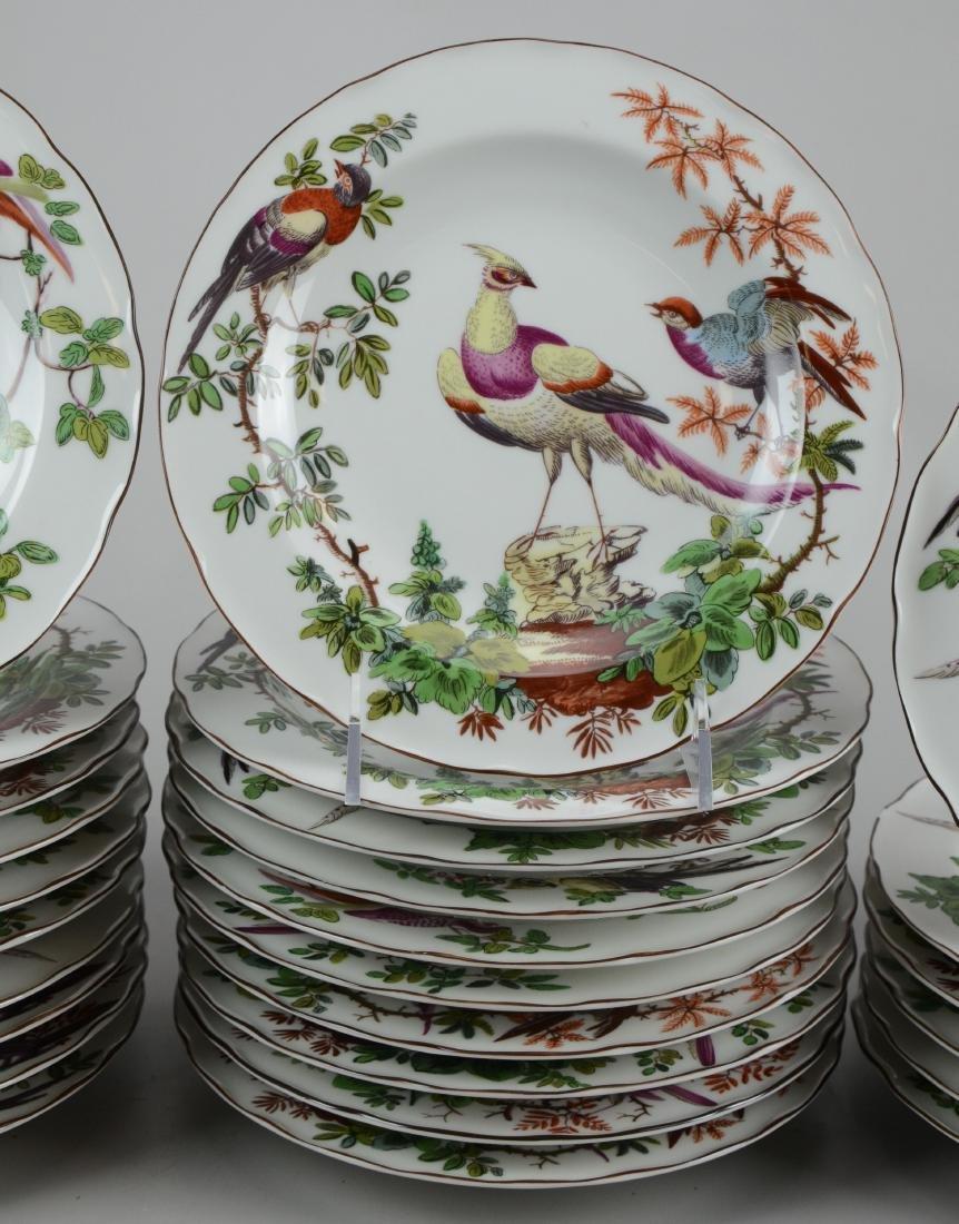 32 Mottahedeh Vista Alegre bird soup bowls - 4