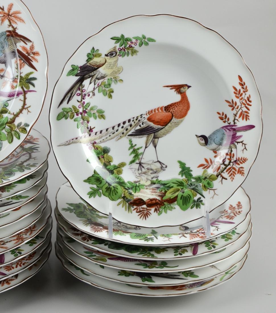 32 Mottahedeh Vista Alegre bird soup bowls - 5