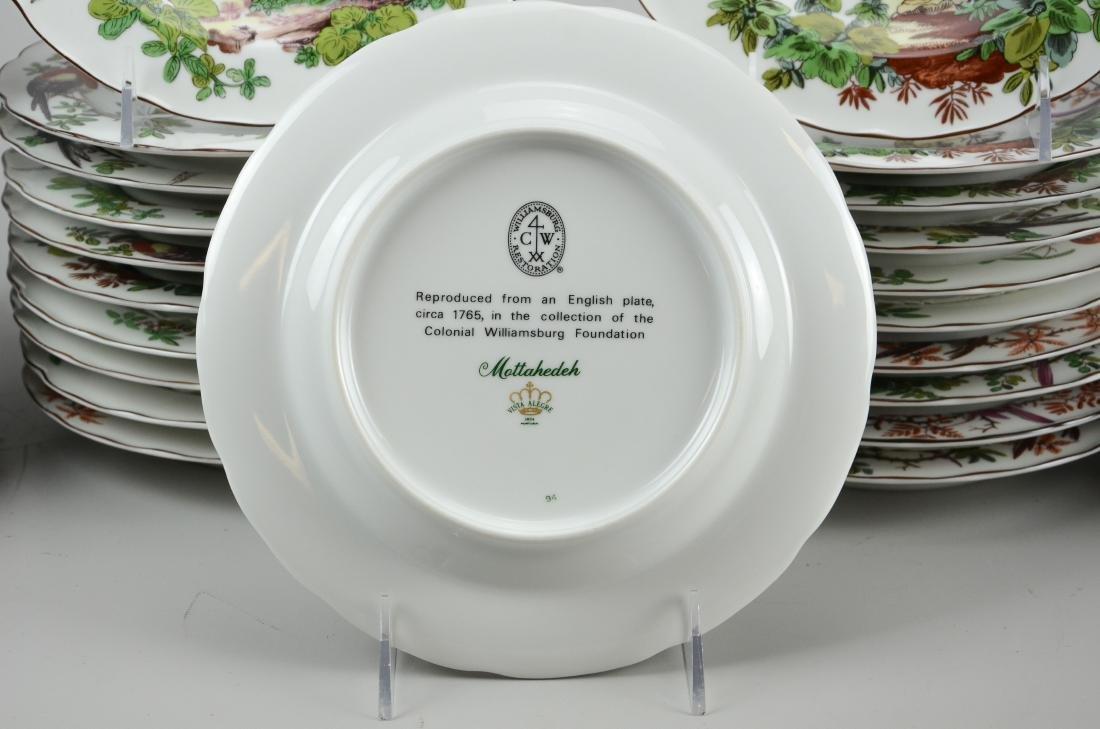 32 Mottahedeh Vista Alegre bird soup bowls - 6